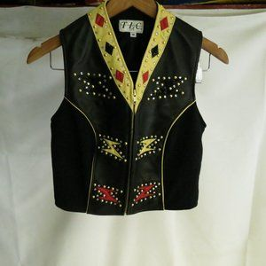 TLC Twin Leather Collection Women's M Vest